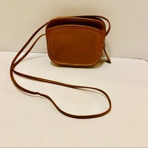 Vintage Coach Hadley British Tan Crossbody Bag